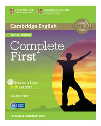 Complete First Second edition - Student's Book with answers with CD-ROM