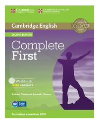 Complete First Second edition - Workbook with answers with Audio CD