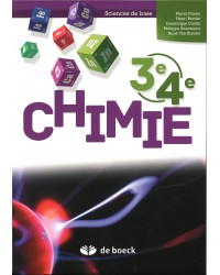 Chimie 3/4 - Sciences de base - Manuel - 1 heure par semaine