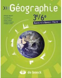 Géographie 3/6 - Manuel